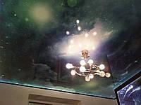 Глянцевый натяжной потолок Марсель и фотопечать космос
