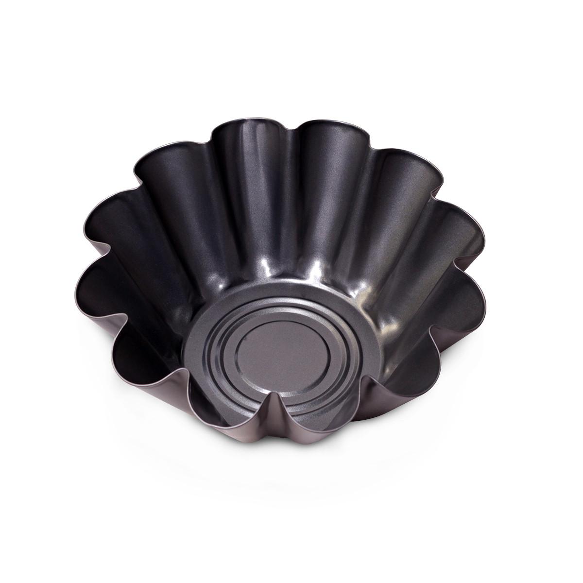 Форма для выпечки Kamille 22.5см из углеродистой стали KM-6003