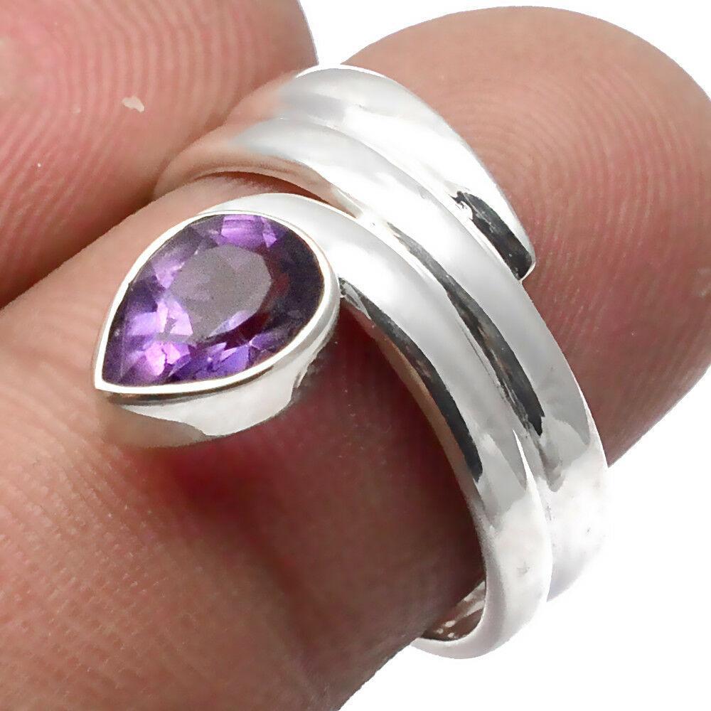 Аметист, серебро 925, кольцо, 1528КЦА