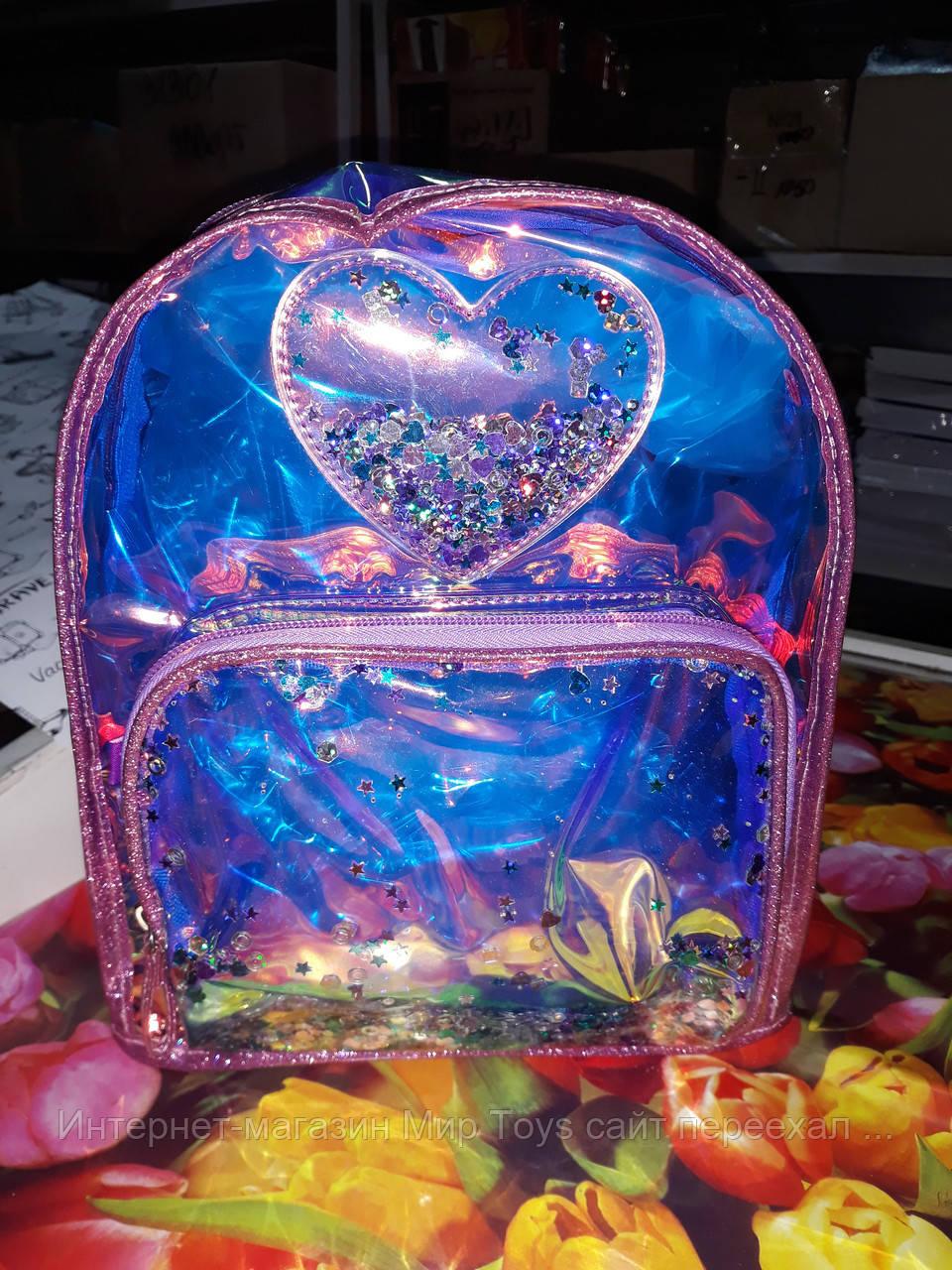 555460 Рюкзак молодежный YES ST-20 Glowing heart