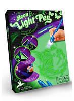 """Набор креативного творчества """"Neon Light Pen"""" Кошка (укр) NLP-01-02U scs"""