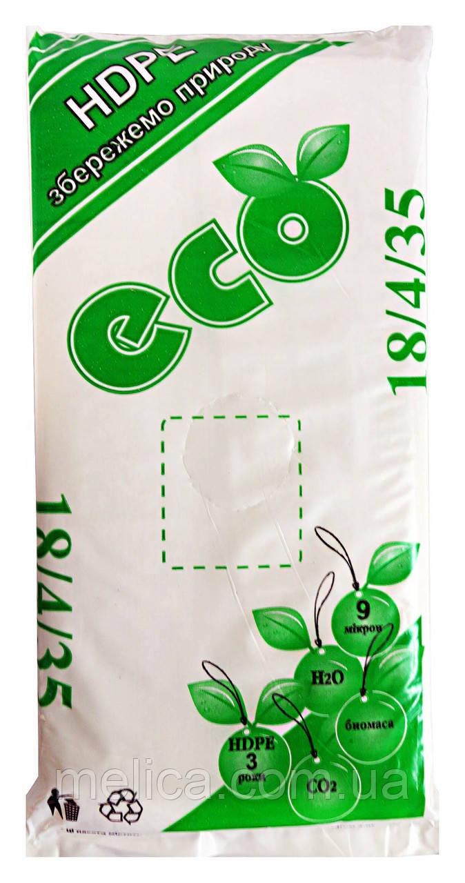 Полиэтиленовые пакеты Фасовочные Пласт Инвест ECO 18 х 35 см - 1000 шт.
