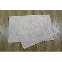Набор ковриков Irya - Esta bej бежевый 40*60+55*85 см