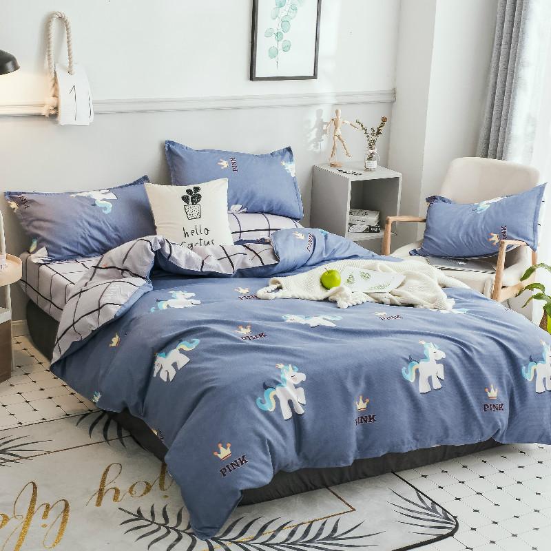 Комплект постельного белья Пони (двуспальный-евро) Berni Home