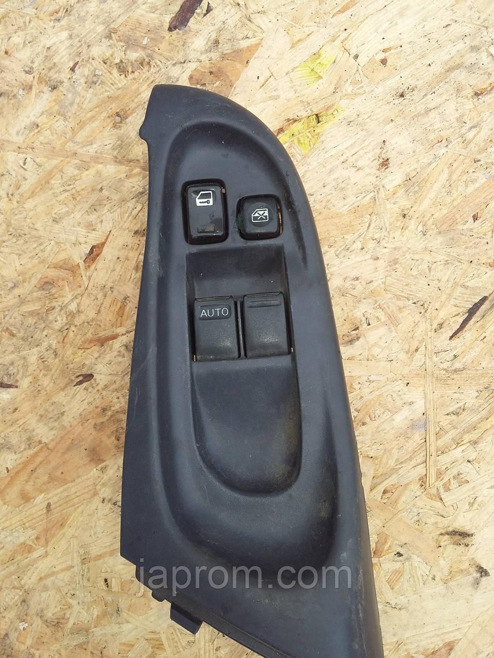 Блок кнопок стеклоподъемников (на 2дв) Nissan Almera N16 2000-2006г.в