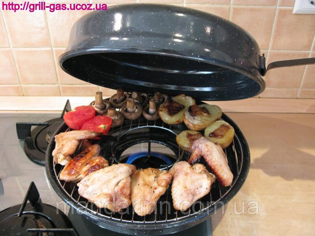 сковорода газ-гриль фото