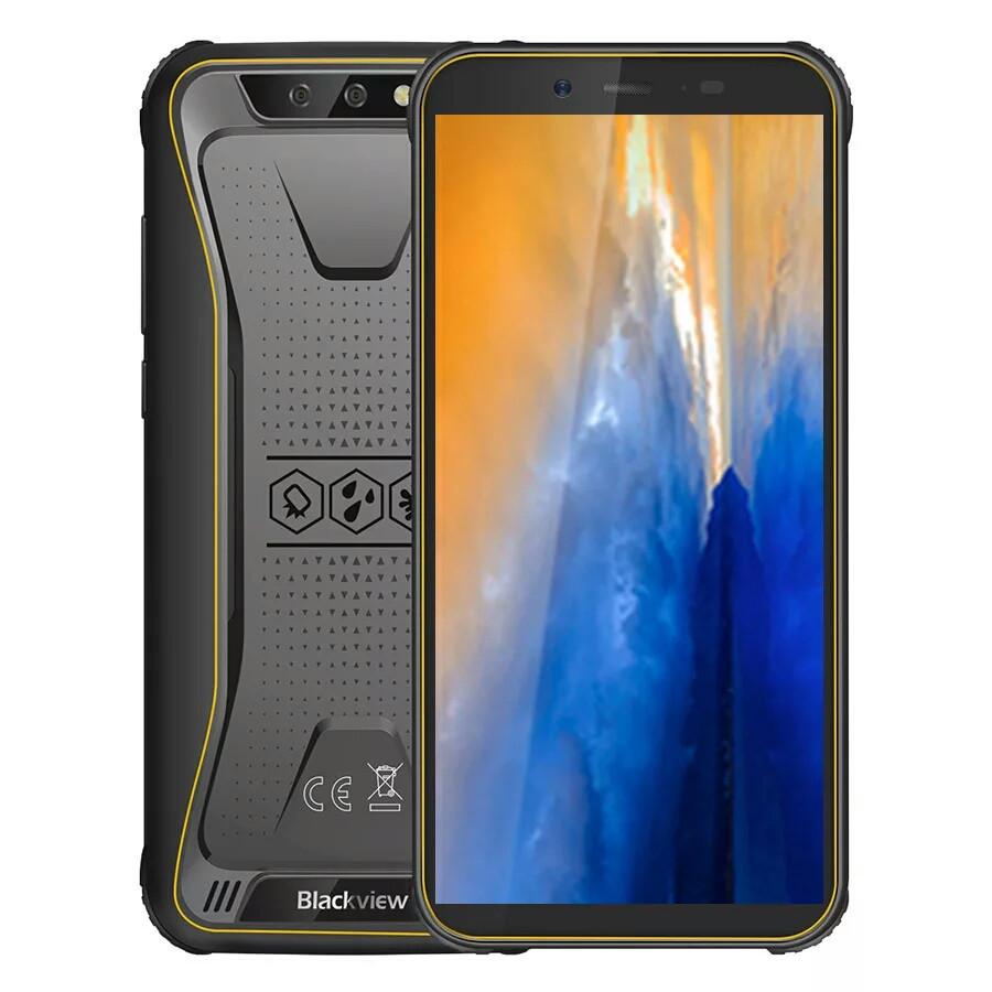 Смартфон Blackview BV5500 Yellow 2/16Gb. 4400 mAh , IP68 НОВИНКА