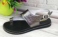 Шкіряні босоніжки.Взуття Дніпро., фото 1