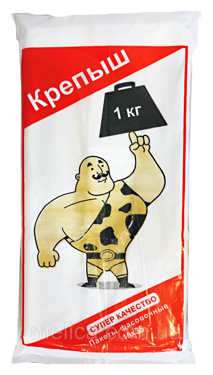 Полиэтиленовые пакеты Фасовочные Крепыш 18 х 35 см - 620-650 шт.