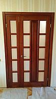 Двери из массива сосны,ольхи,дуба,ясеня распашные