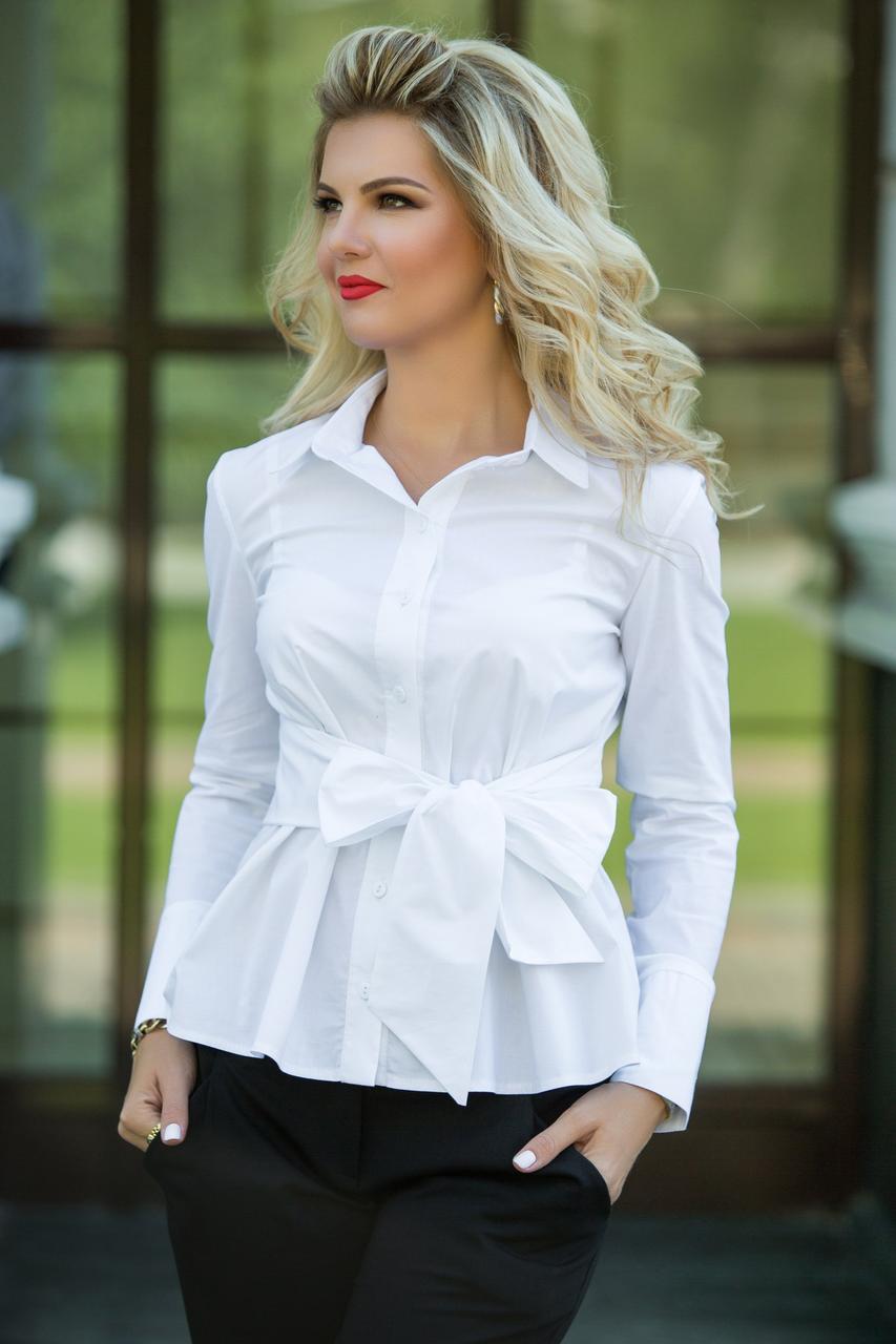 Необычная блуза с открытой спиной