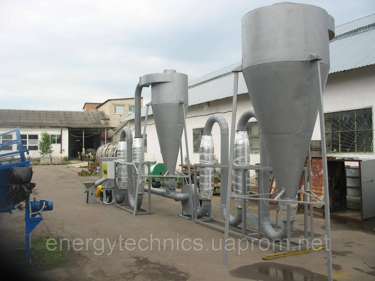 Линия для производства топливных брикетов 400 кг/час