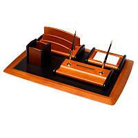 Настольный набор для руководителя BST 200001 64*45 см коричневый  Сочный абрикос