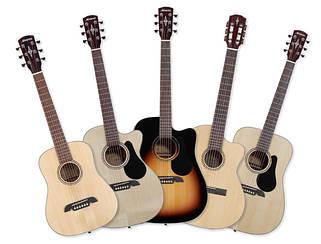 Акційні гітари та гітарне обладнання