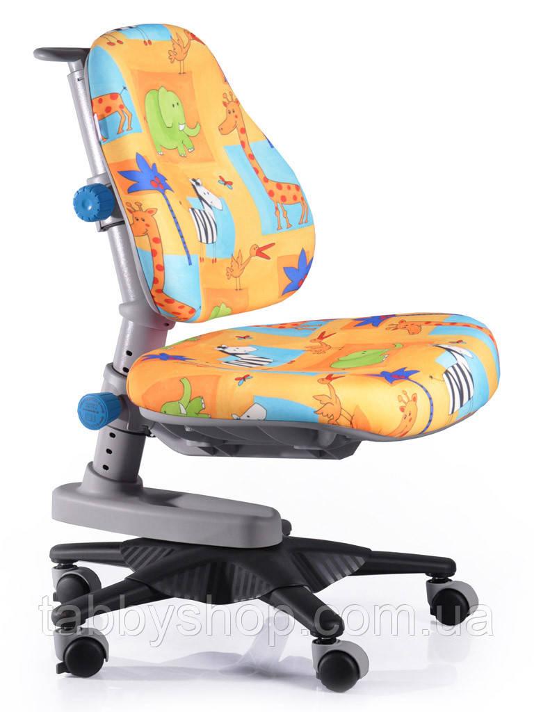 Детское кресло MEALUX Newton GR1 (обивка желтая со зверятами)