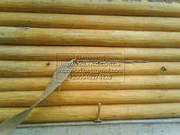 Конопатка натуральная в ленте шир.12 см длина 25 м готовая к применению для срубов,деревянных домов,бань,саун, фото 1