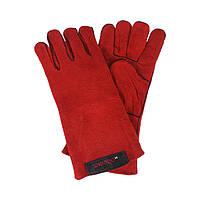 Перчатки сварщика Краги Dnipro-M, Красные (81065000)