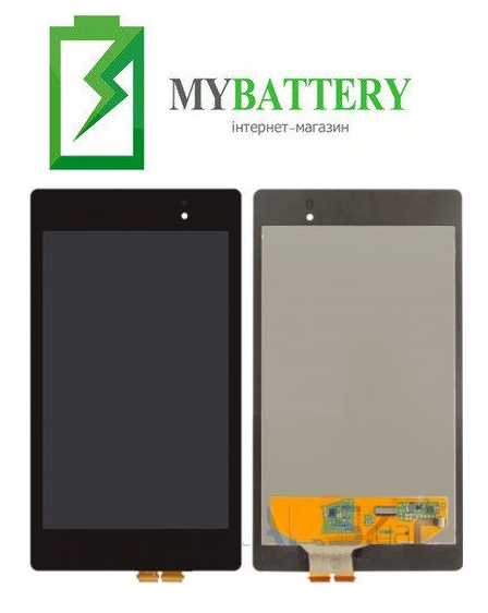 Дисплей (LCD) Asus ME571K Google Nexus 7 NEW с сенсором чёрный (2 поколение 2013)