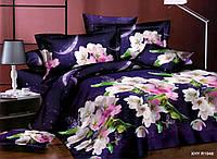 Полуторное постельное белье Бязь Ранфорс Ranforse 100 % хлопок - НОЧНАЯ СКАЗКА