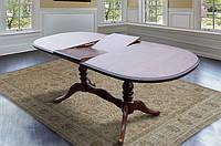 Стол МИКС-Мебель Вавилон 1500(+450)*900 (орех)
