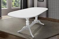 Стол МИКС-Мебель Вавилон 1500(+450)*900 (белый)