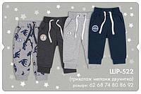 Трикотажные спортивные штаны для мальчика. ШР 522