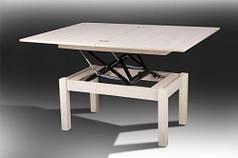 Стол МИКС-Мебель Флай 920*605*520 (дуб молочный)