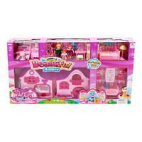 """Кукольный дом с фигурками и мебелью """"Beautiful Homes"""" 8161-1 sct"""