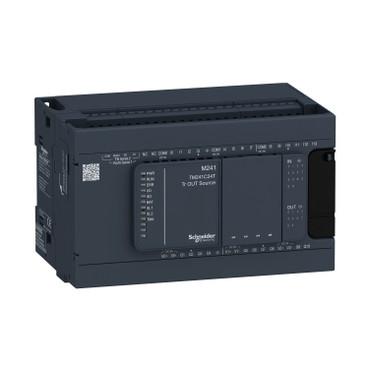 Контролер Modicon M241 14DI/10TO 2xRS485 TM241C24T