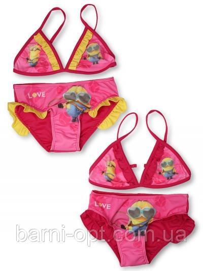 Купальники для девочек,  Disney, оптом, 98-140 рр