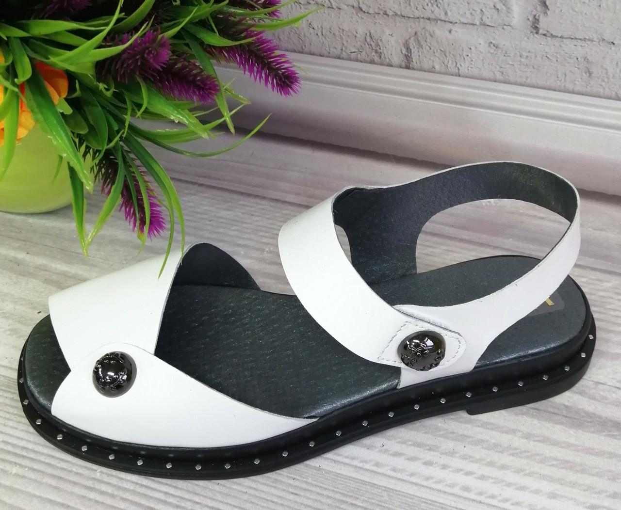 Босоножки  из натуральной кожи. Обувь Днепр.