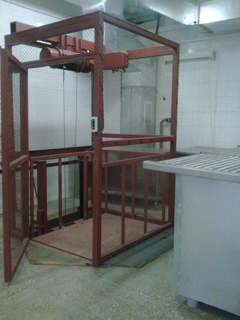 Грузовые лифты, оборудование от производителя