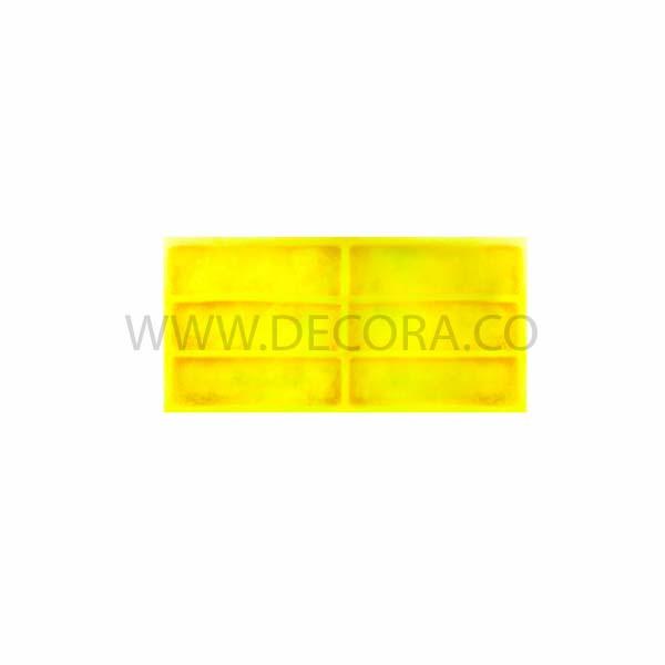 Полиуретановые силиконовые формы под кирпич Рустик для гипсовой плитки
