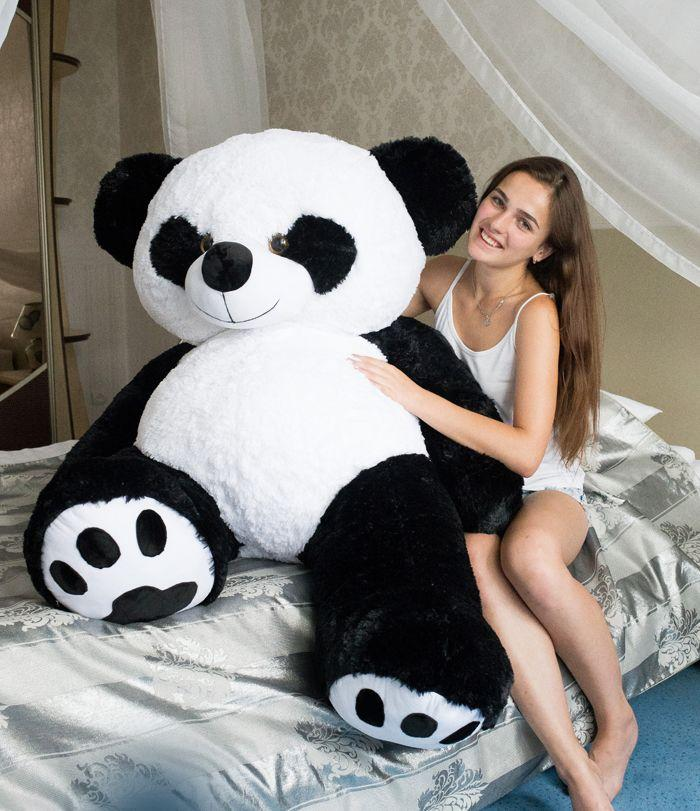 Іграшка панда, плюшева панда. Ведмідь панда 200 см