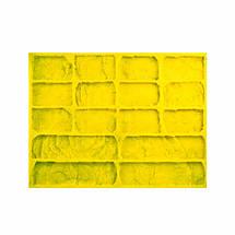 Полиуретановые силиконовые формы под кирпич Рустик для гипсовой плитки, фото 3