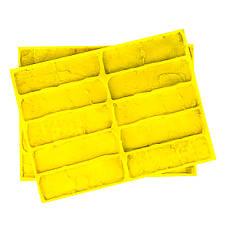 Полиуретановые силиконовые формы под кирпич Рустик для гипсовой плитки, фото 2