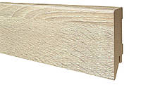 Плинтус МДФ Дуб сонома 80х16 мм, шт., фото 1