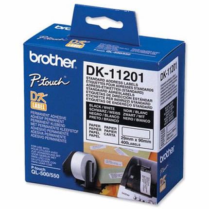 Картридж Brother QL-1060N (Standard address labels) (DK11201), фото 2