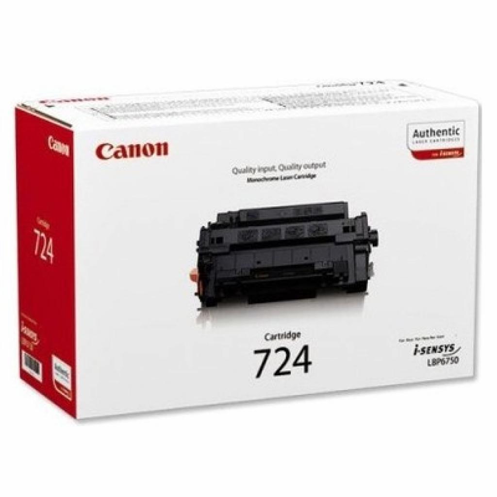 Картридж Canon 724 black (6K) LBP-6750dn (3481B002)
