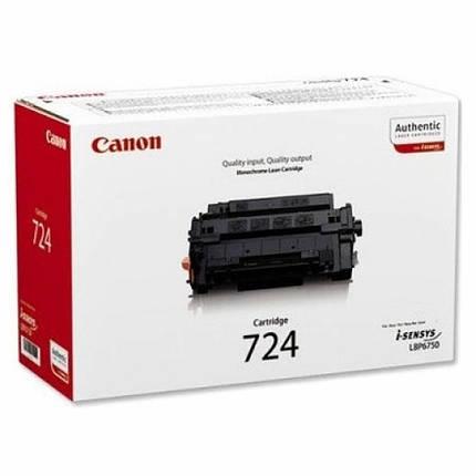 Картридж Canon 724 black (6K) LBP-6750dn (3481B002), фото 2