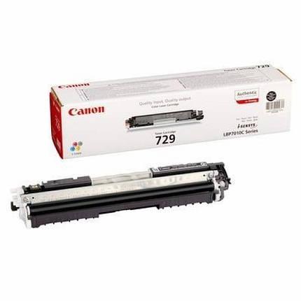 Картридж Canon 729 LBP-7018С/ 7010С black (4370B002), фото 2