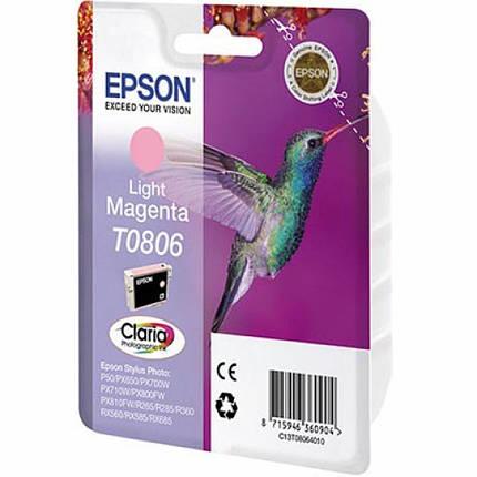Картридж EPSON P50/ PX660/720WD/820FWD lt magenta (C13T08064010/C13T08064011), фото 2