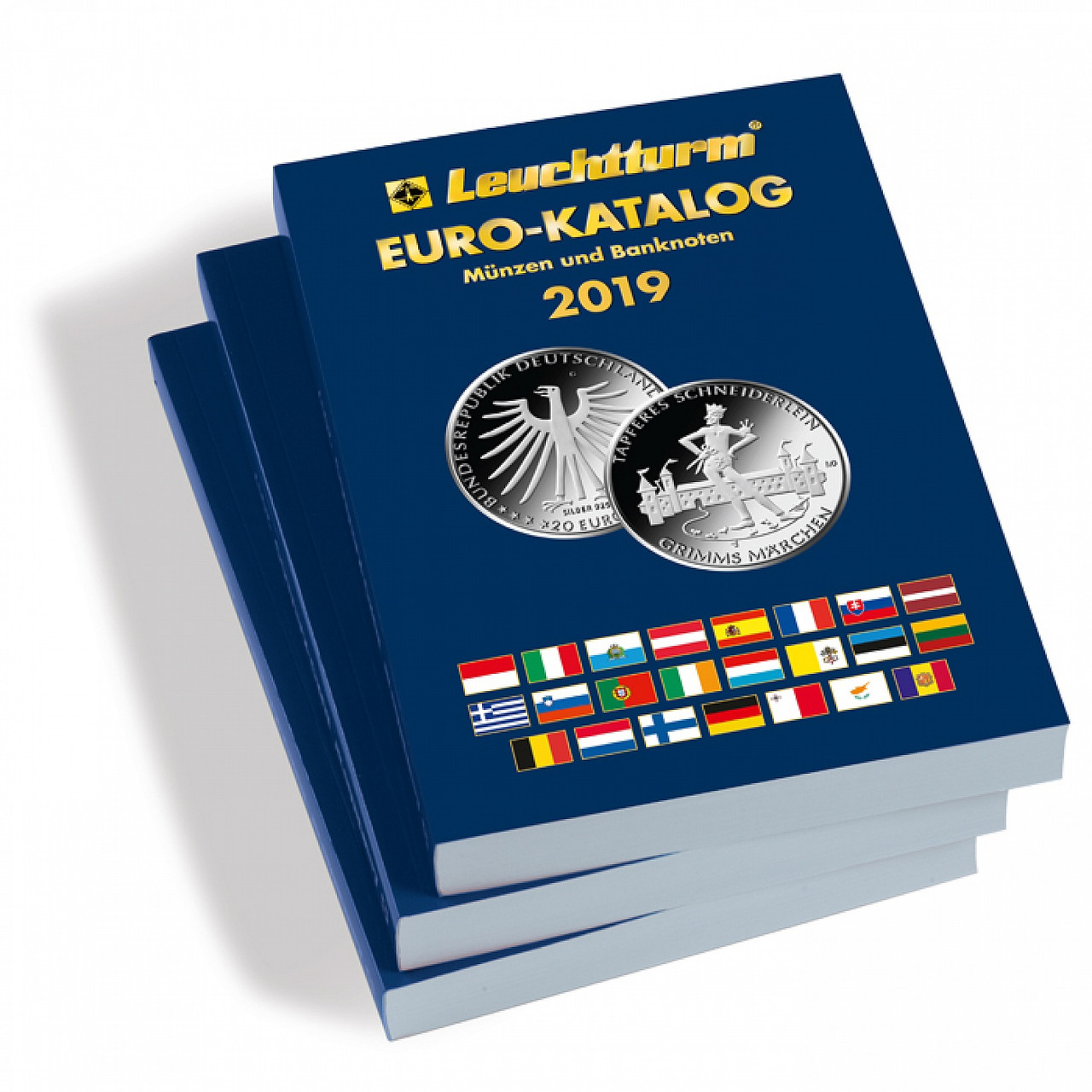 EUROKAT19ENG Полный каталог евромонет 2019 (англ.яз)