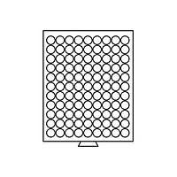 Бокс Leuchtturm для монет (диаметр ячейки 19,25 мм)