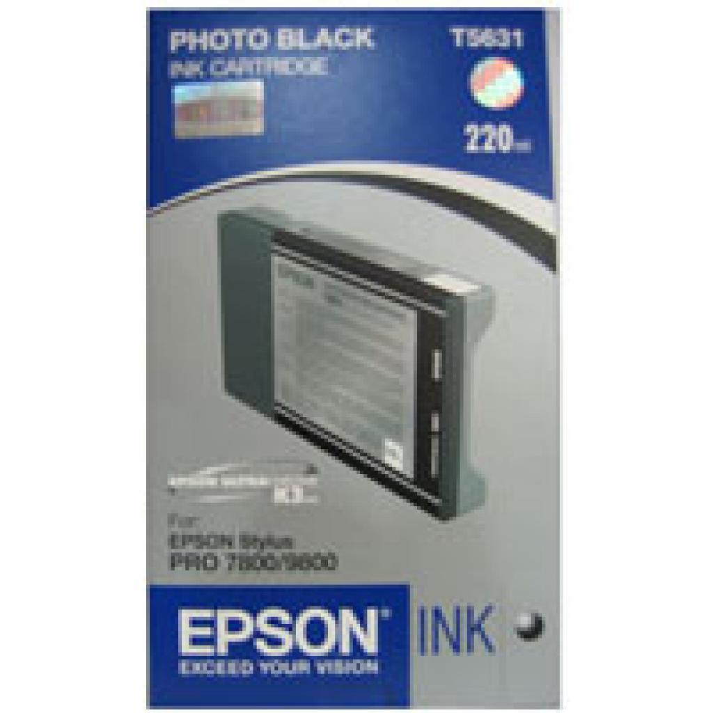 Картридж EPSON St Pro 7800/7880/9800 photo black (C13T603100)