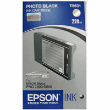 Картридж EPSON St Pro 7800/7880/9800 photo black (C13T603100), фото 2