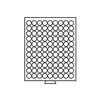 Бокс Leuchtturm для монет (диаметр ячейки 20 мм)