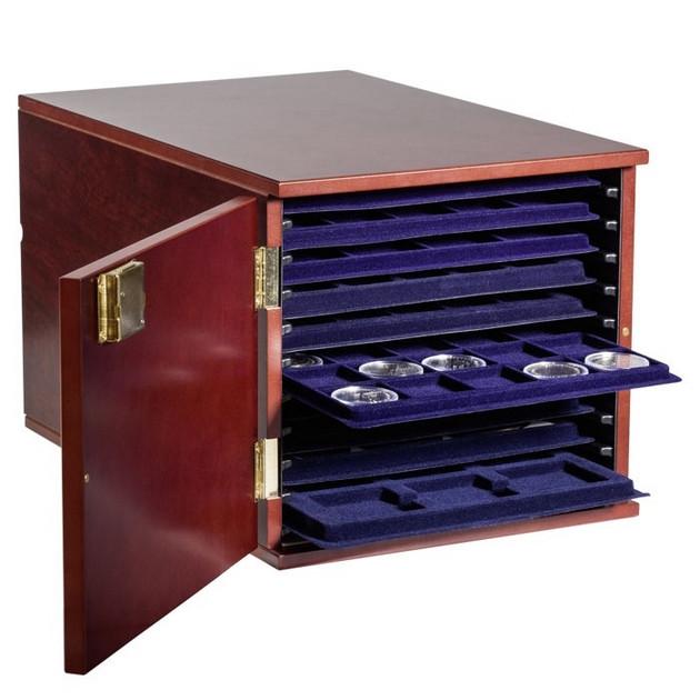 Шкаф для монет в лотках