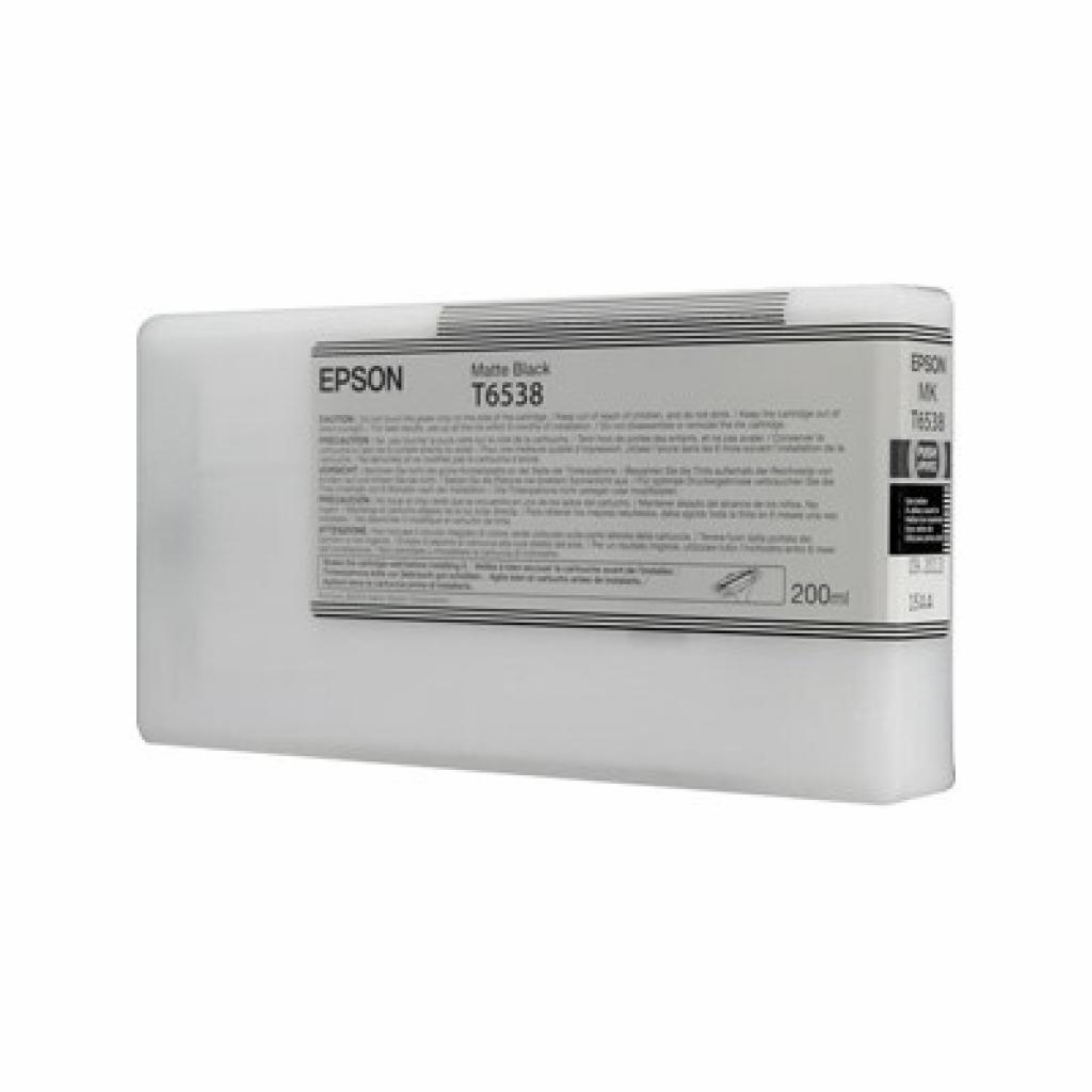 Картридж EPSON StPro 4900 matte black, 200мл (C13T653800)