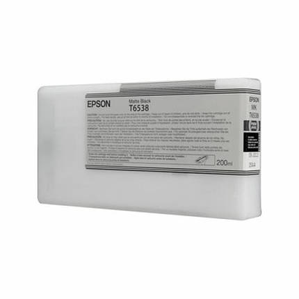 Картридж EPSON StPro 4900 matte black, 200мл (C13T653800), фото 2
